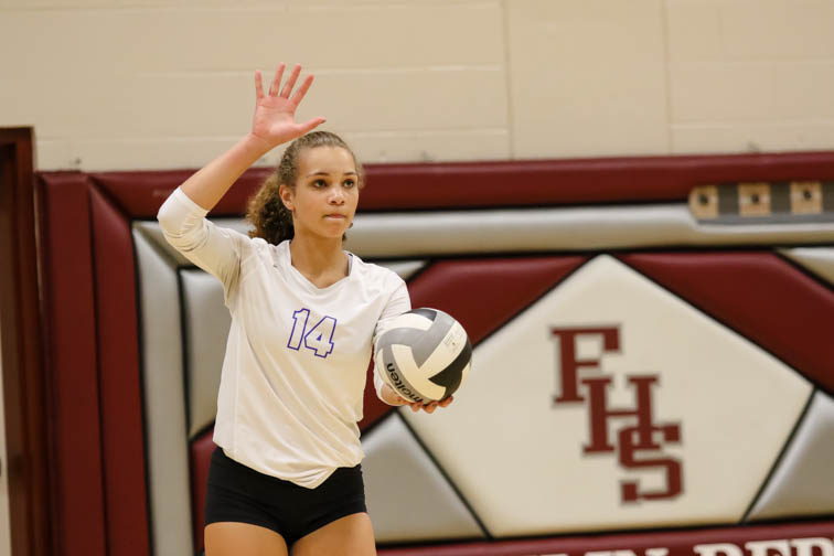 Brentwood volleyball goes undefeated in district play in Franklin win
