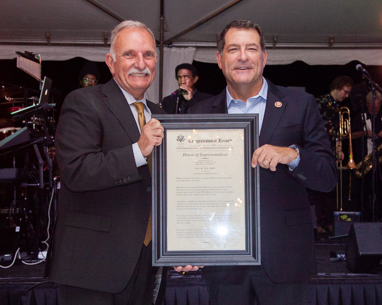 U.S. Rep. Mark Green, Sen. Marsha Blackburn praise Brentwood's business-friendly climate at 50th anniversary celebration