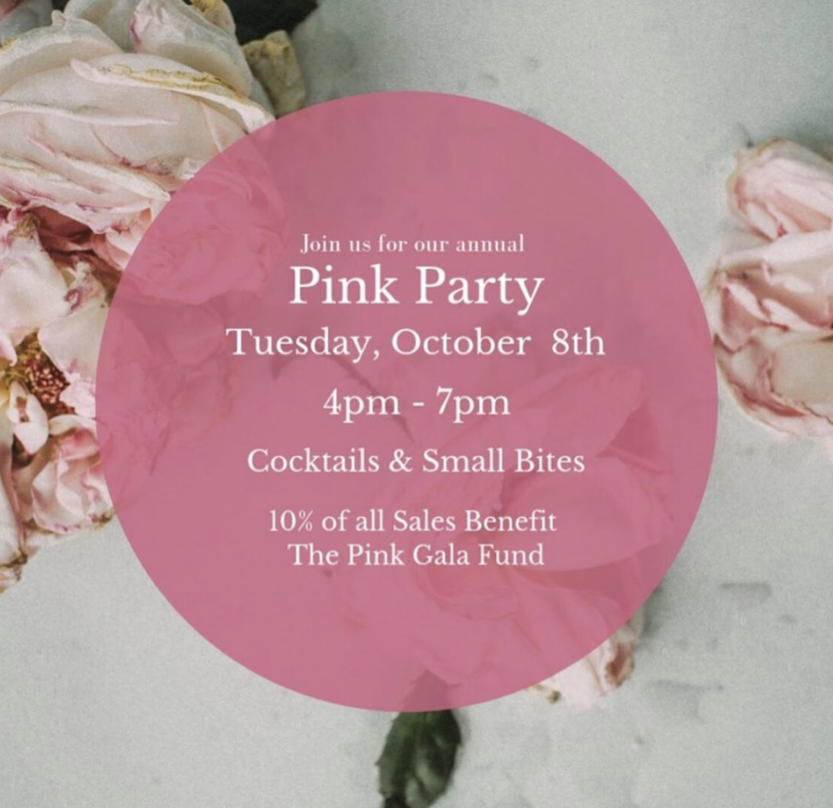 Kelly Spalding Designs to host Pink Party benefitting breast cancer awareness Tuesday