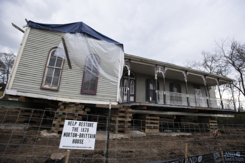 'Raise the Roof' fundraiser brings in more than $8,300 for Morton-Brittain home restoration