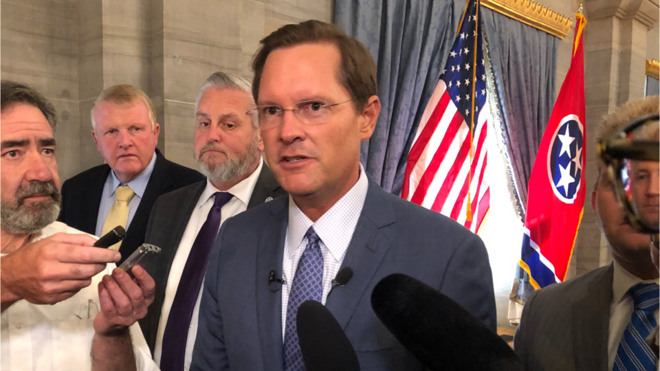 State House Speaker-select Cameron Sexton names chief of staff, State Rep Sam Whitson praises character