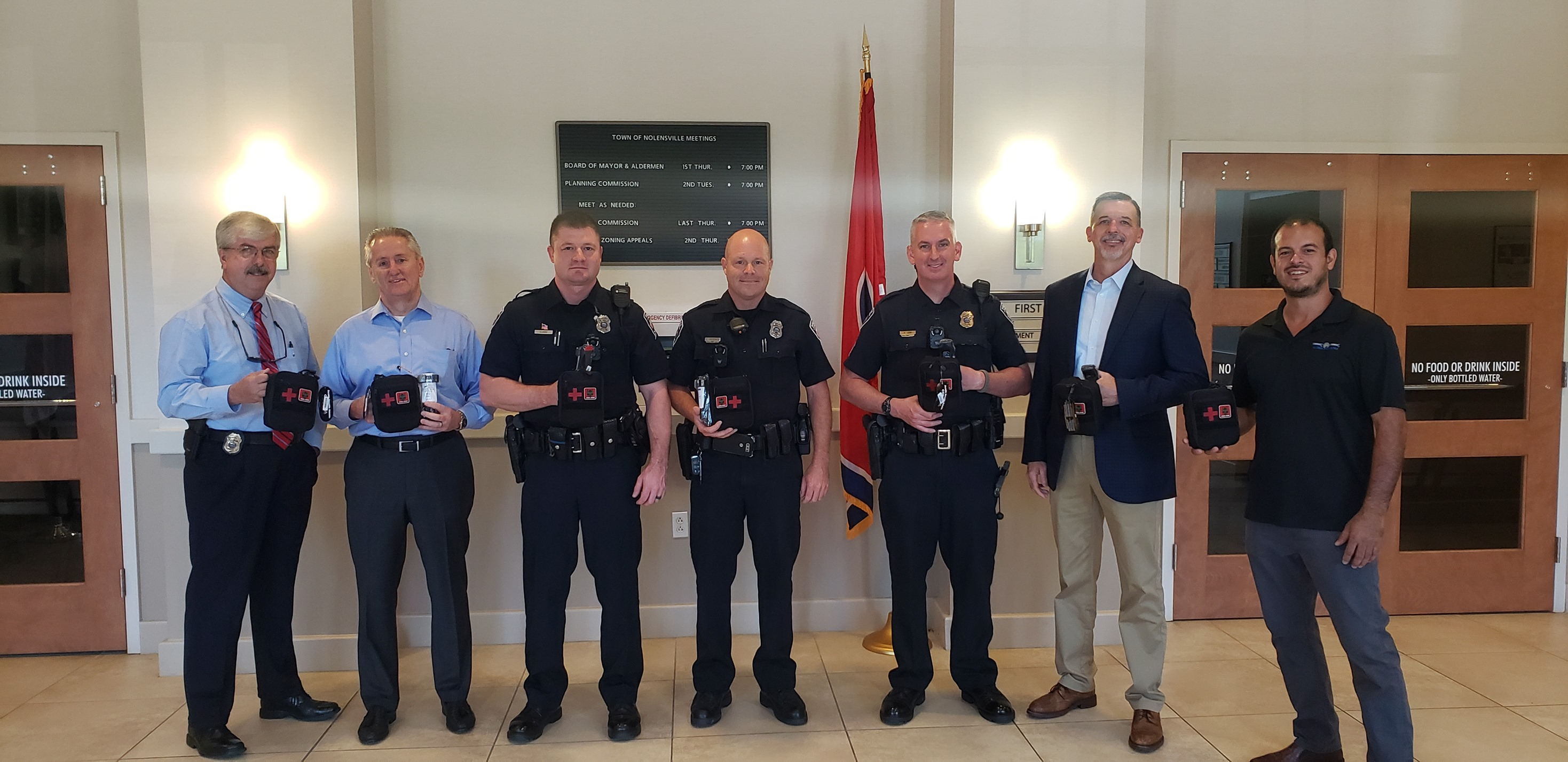 Trauma kits donated to Nolensville Police Department
