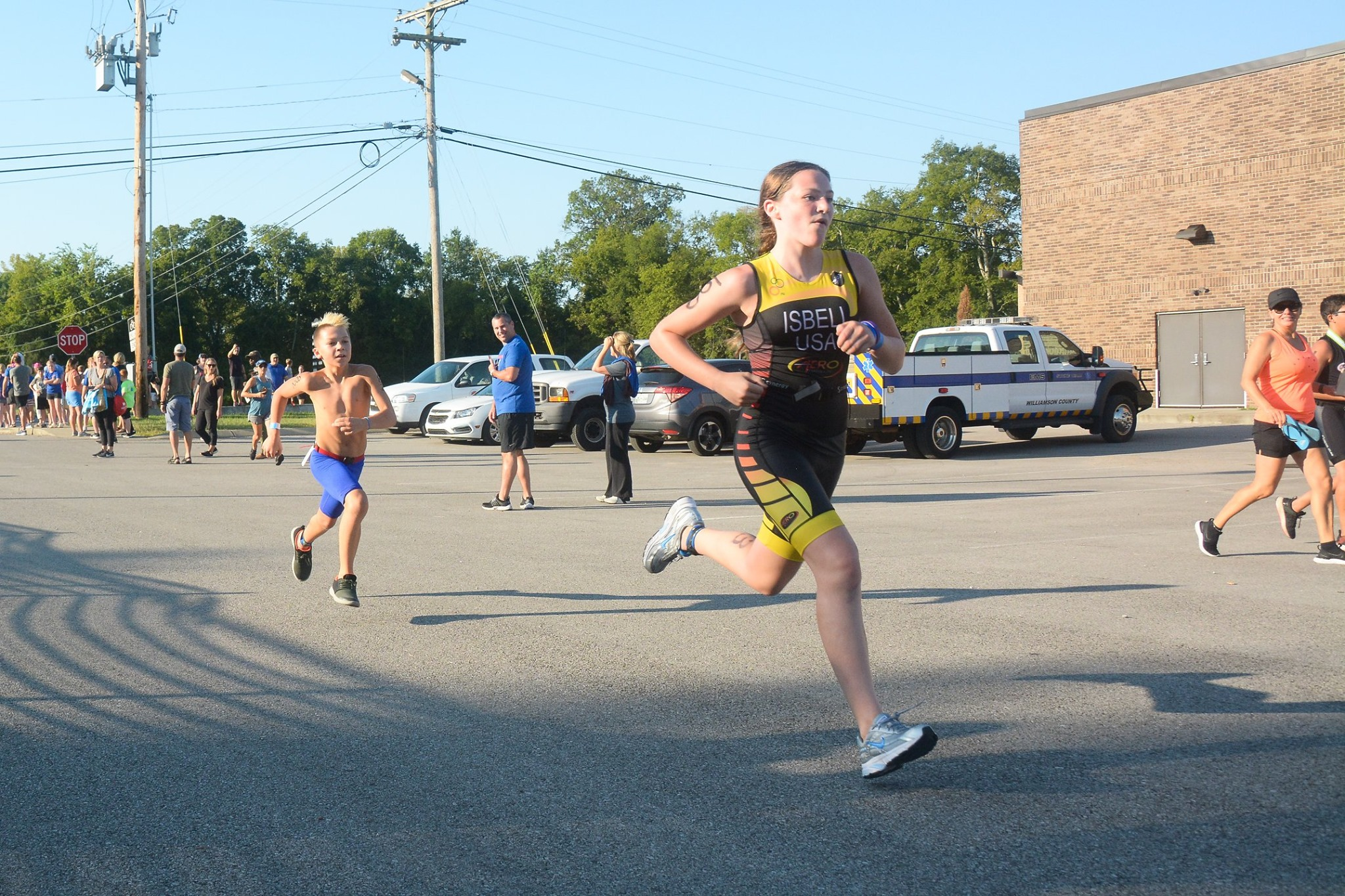 Nolensville Kids Triathlon draws 400 athletes