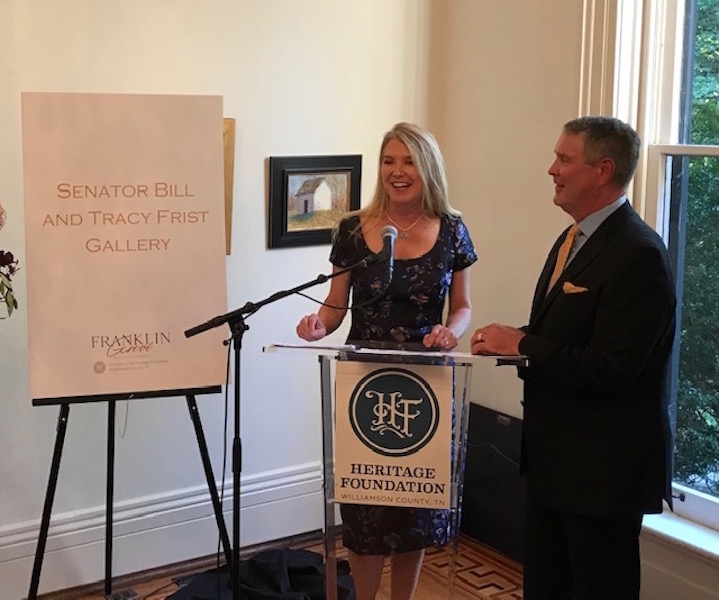 Frists honored at Heritage Ball Reveal Party as guests learn more about upcoming event