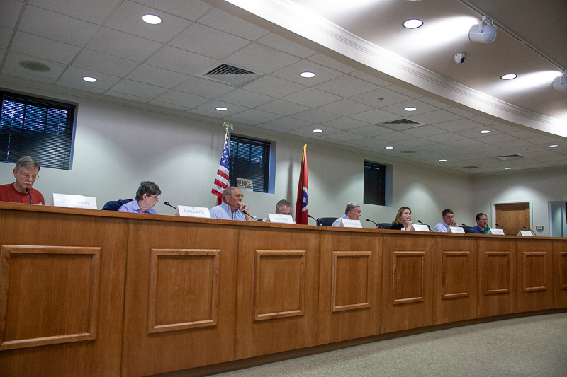 Nolensville Planning Commission amends driveway regulations, approves bond actions