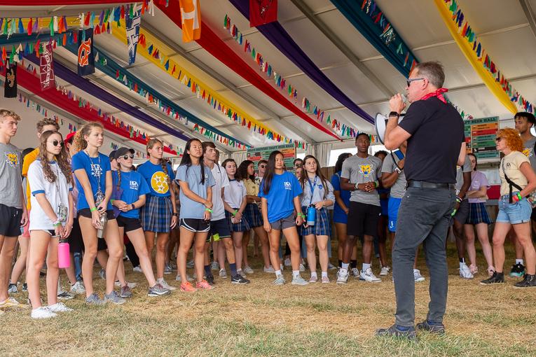 High school students visit Pilgrimage Festival for behind the scenes sneak peek