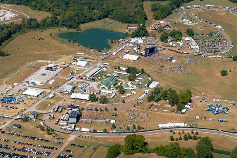 PHOTOS: See Pilgrimage Festival from above