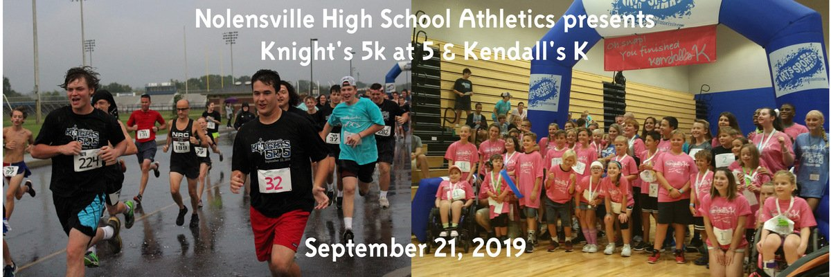 Nolensville Knights 5K at 5 and Kendall's K to be held Saturday