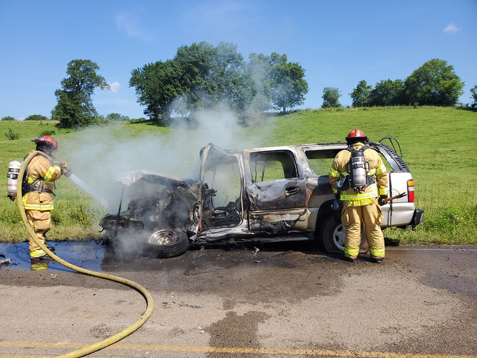 Spring Hill city employee and bystanders rescue man from burning vehicle