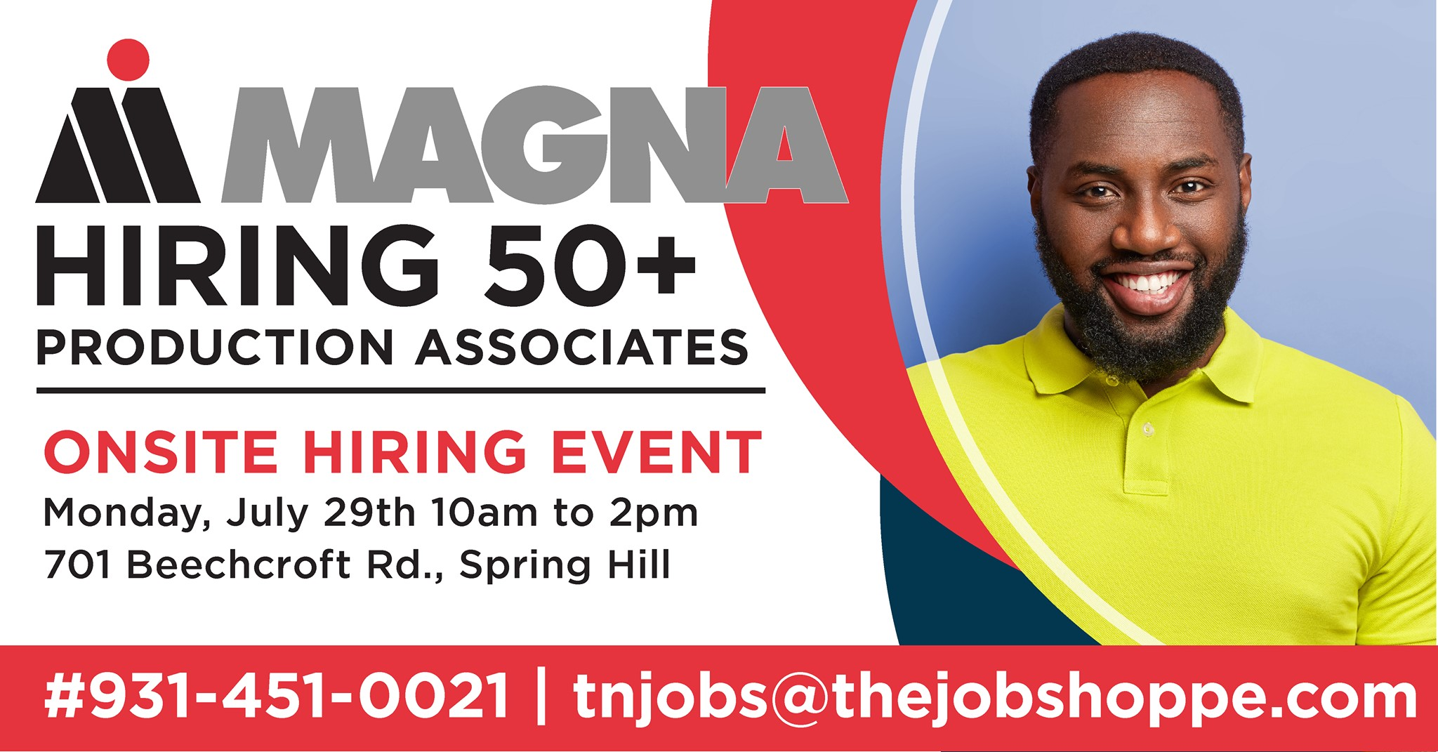 MAGNA in Spring Hill looking to hire more than 50 employees during hiring event