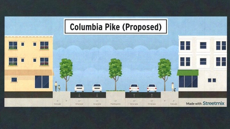 Columbia Pike widening named priority in final draft of new Thompson's Station Major Thoroughfare Plan