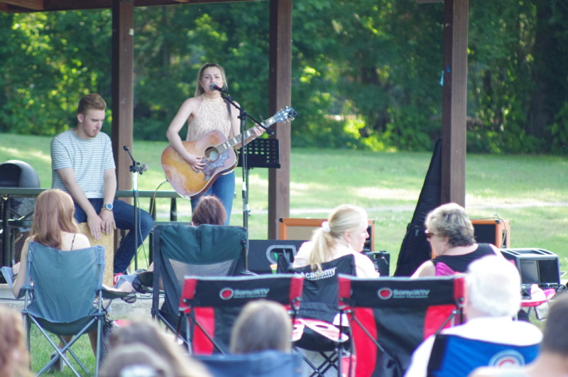 Monthly music festival Pickin' in the Park continues this Saturday