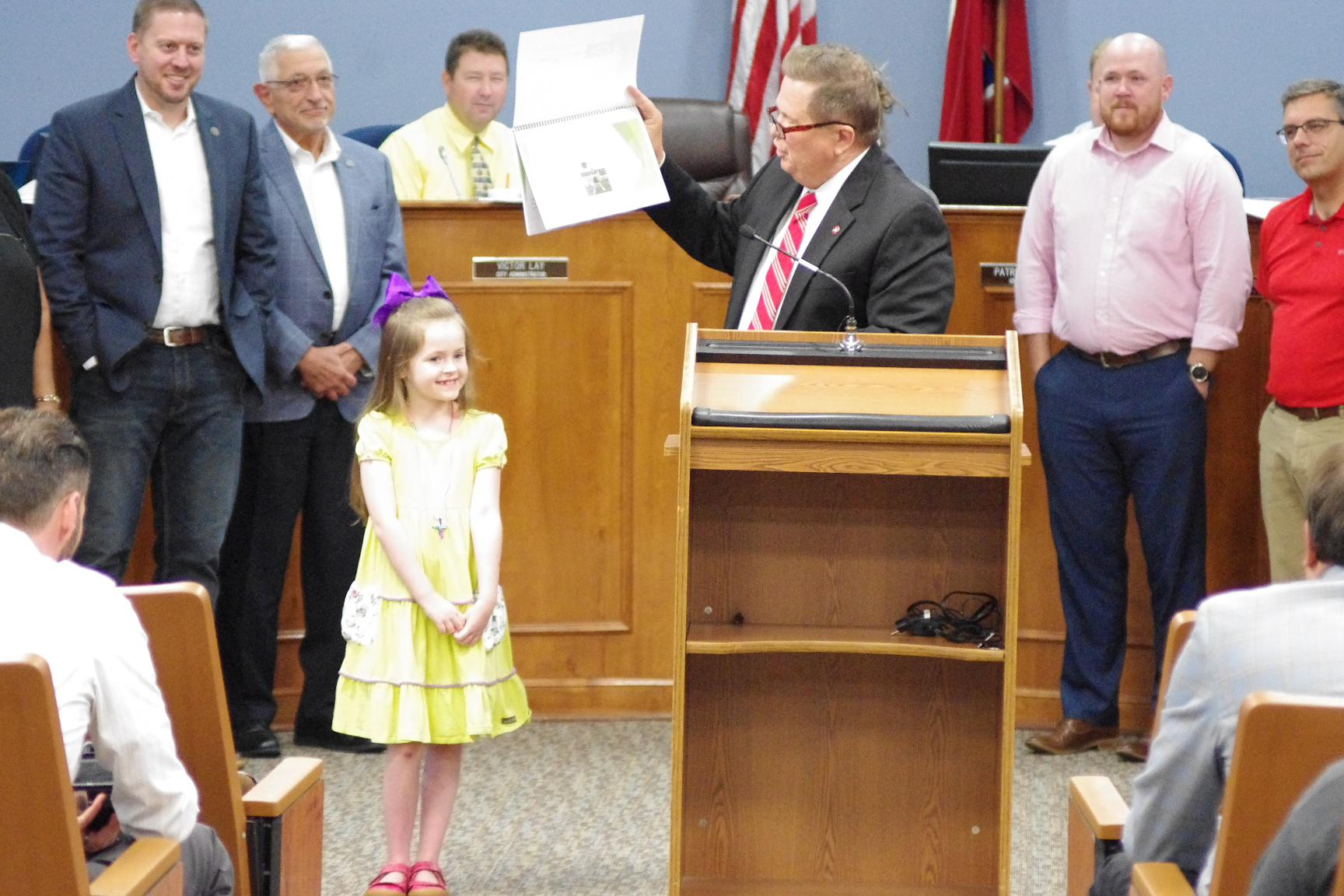 After nearly protesting, Spring Hill 7 year old meets with the mayor