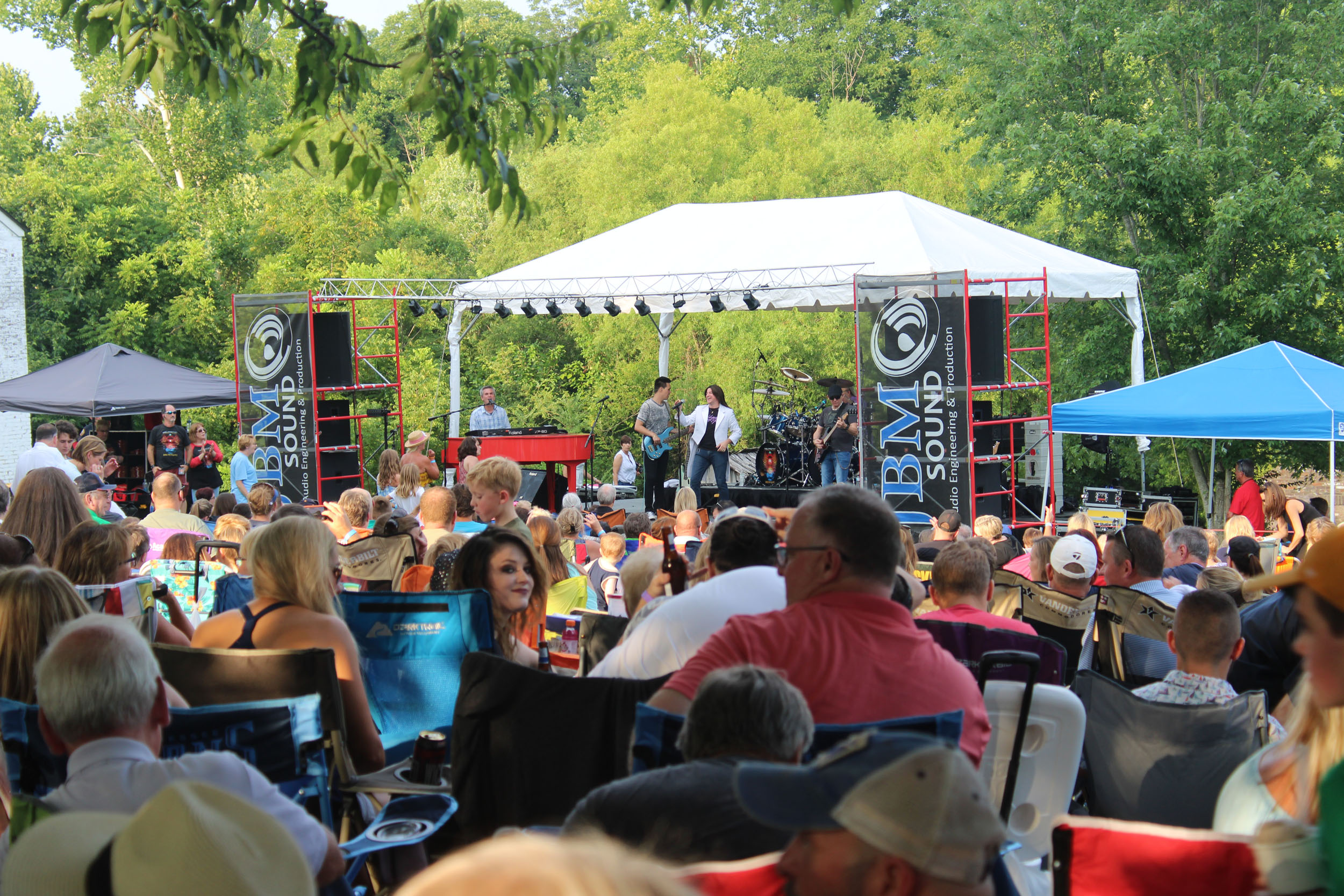 PHOTOS: Carnton Sunset Concert Series with Resurrection-A Journey Tribute