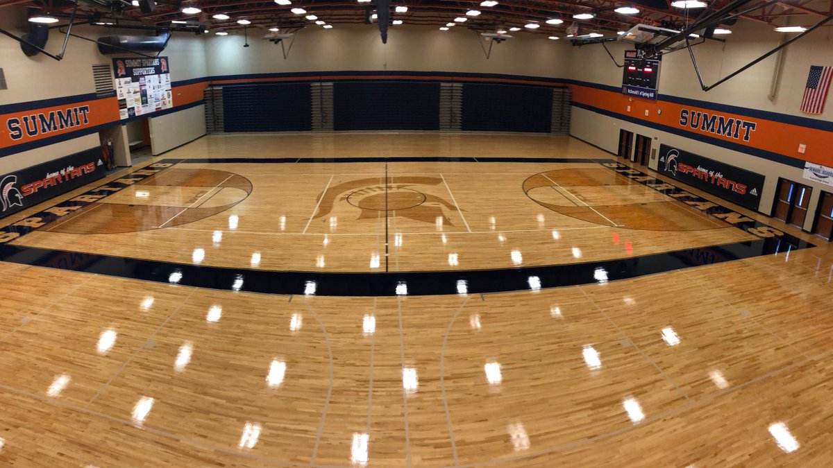 Summit High School installs new basketball court to cap season of change