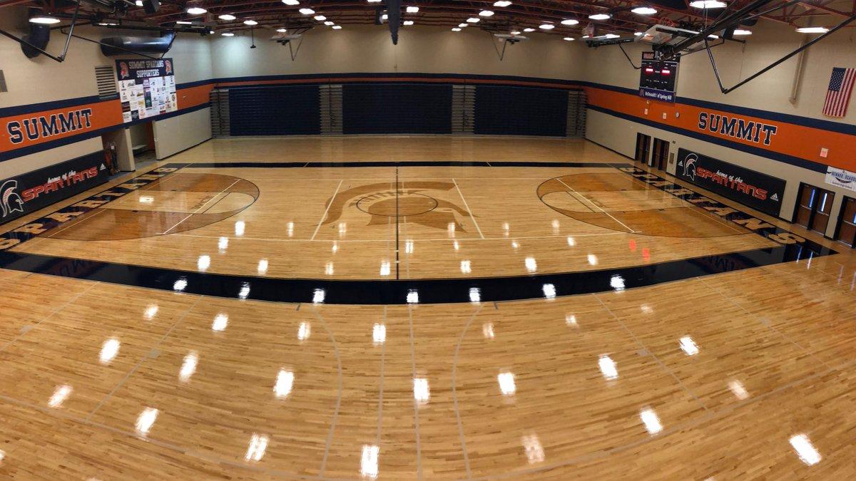 Summit High School installs new basketball court to cap season of change