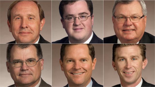 Six men seek to succeed outgoing Casada, GOP set to choose new speaker