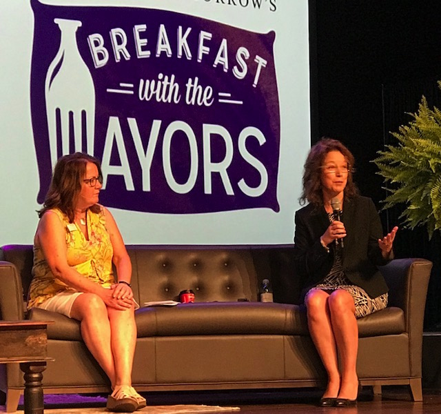 Breakfast with Mayors focuses on community character, land preservation and zoning updates