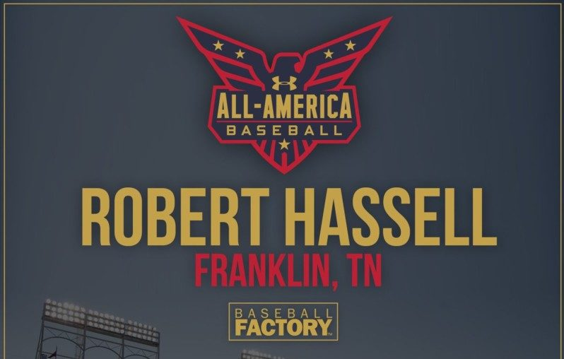 Indy baseball star Robert Hassell selected for Under Armour All-America Game