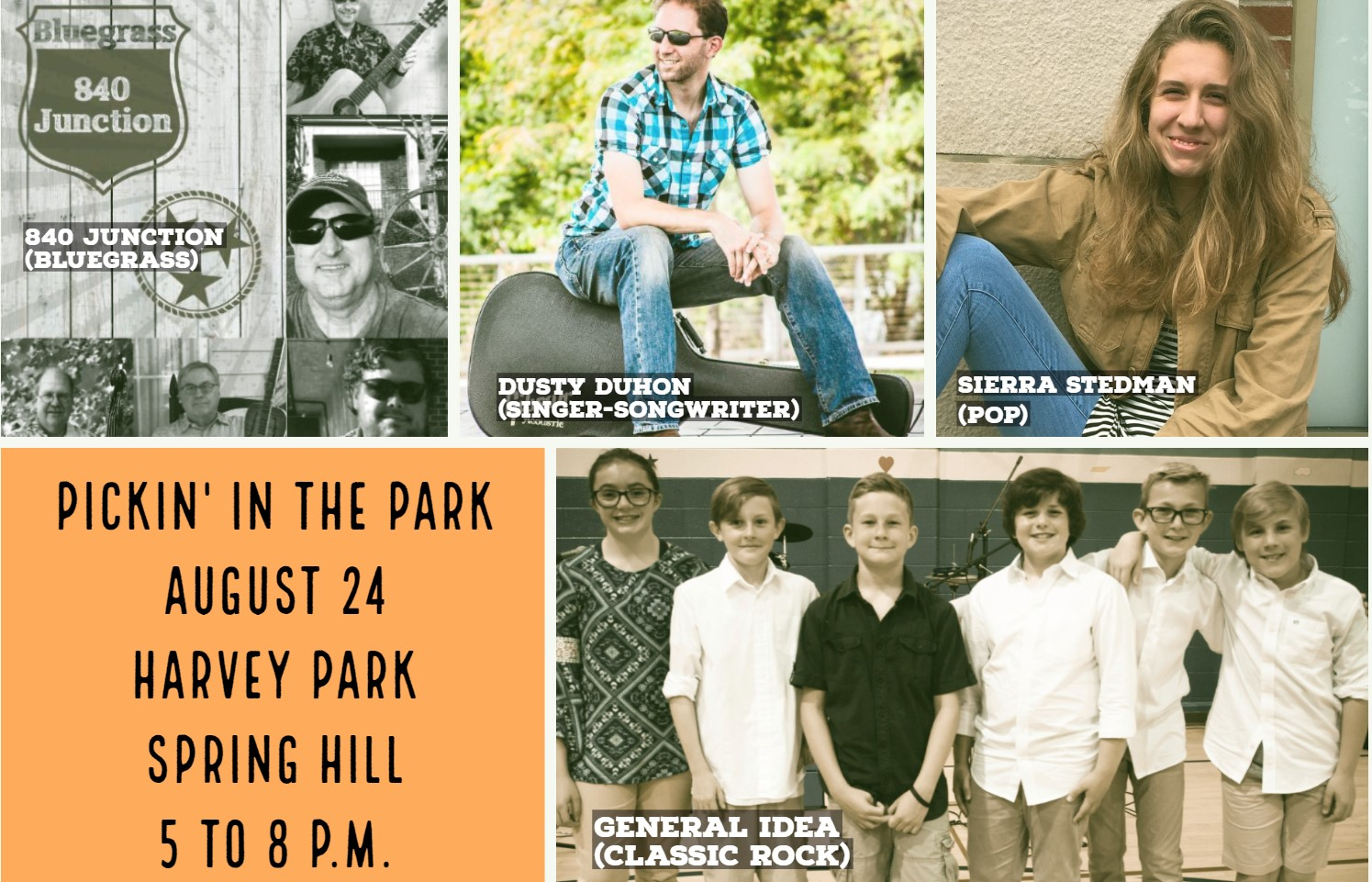 Kid-composed rock band to perform during August's Pickin' in the Park music festival Saturday