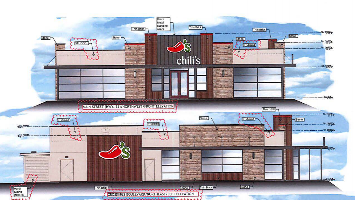 Chili's restaurant coming to the Crossings in Spring Hill