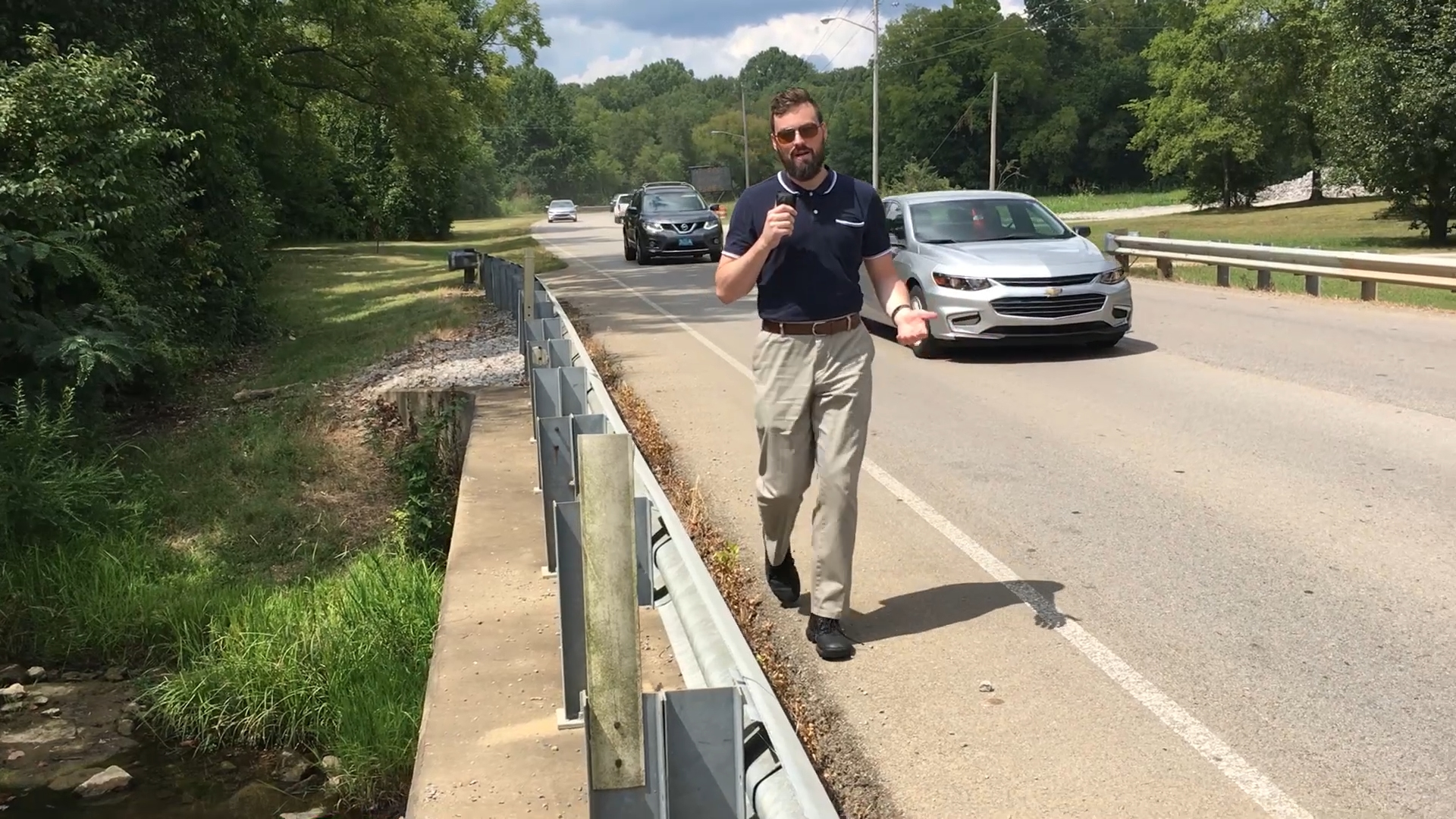 VIDEO: Spring Hill continues to suffer a walkability problem with its lack of sidewalks