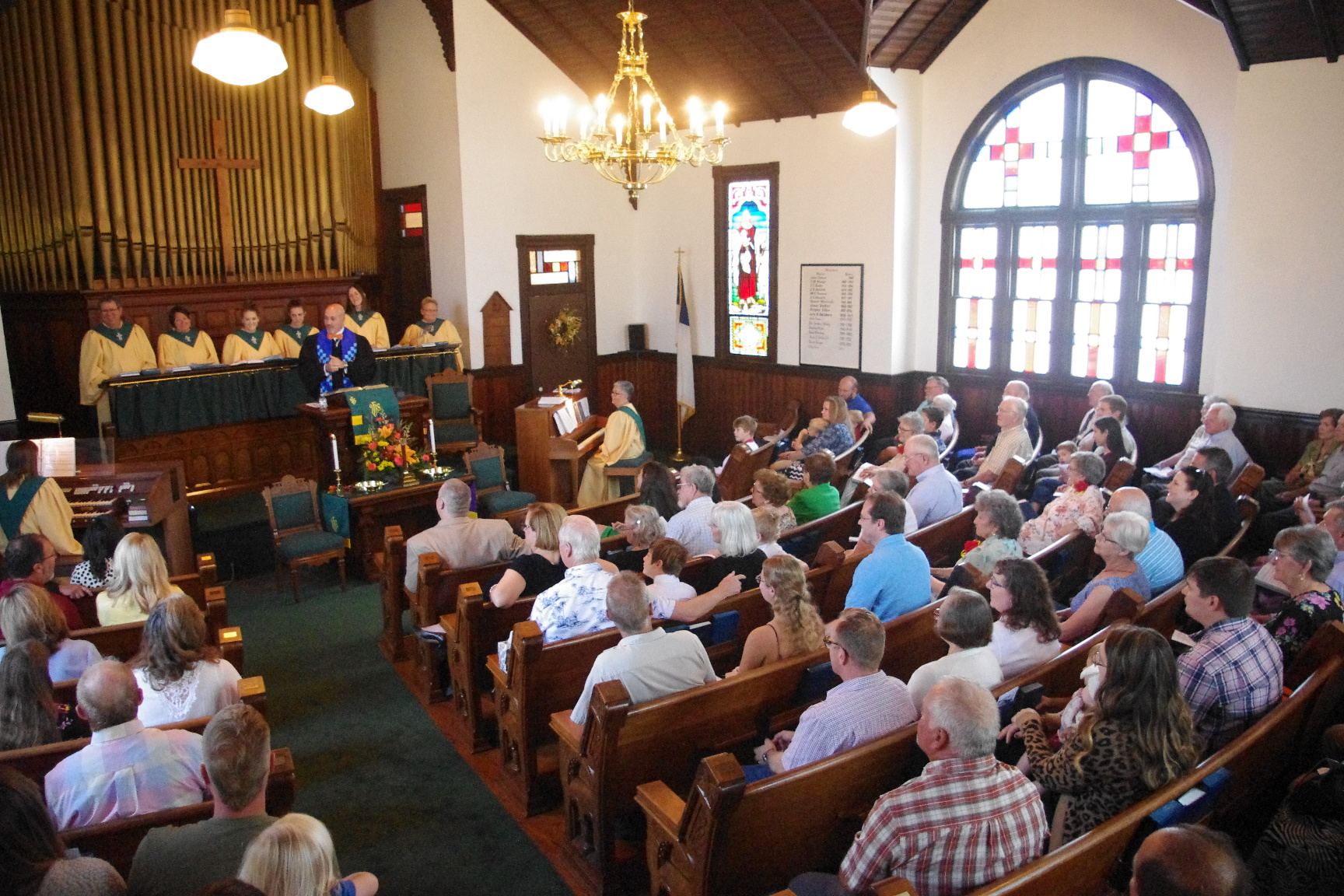 Spring Hill's First Presbyterian Church celebrates 175 years with community feast, service
