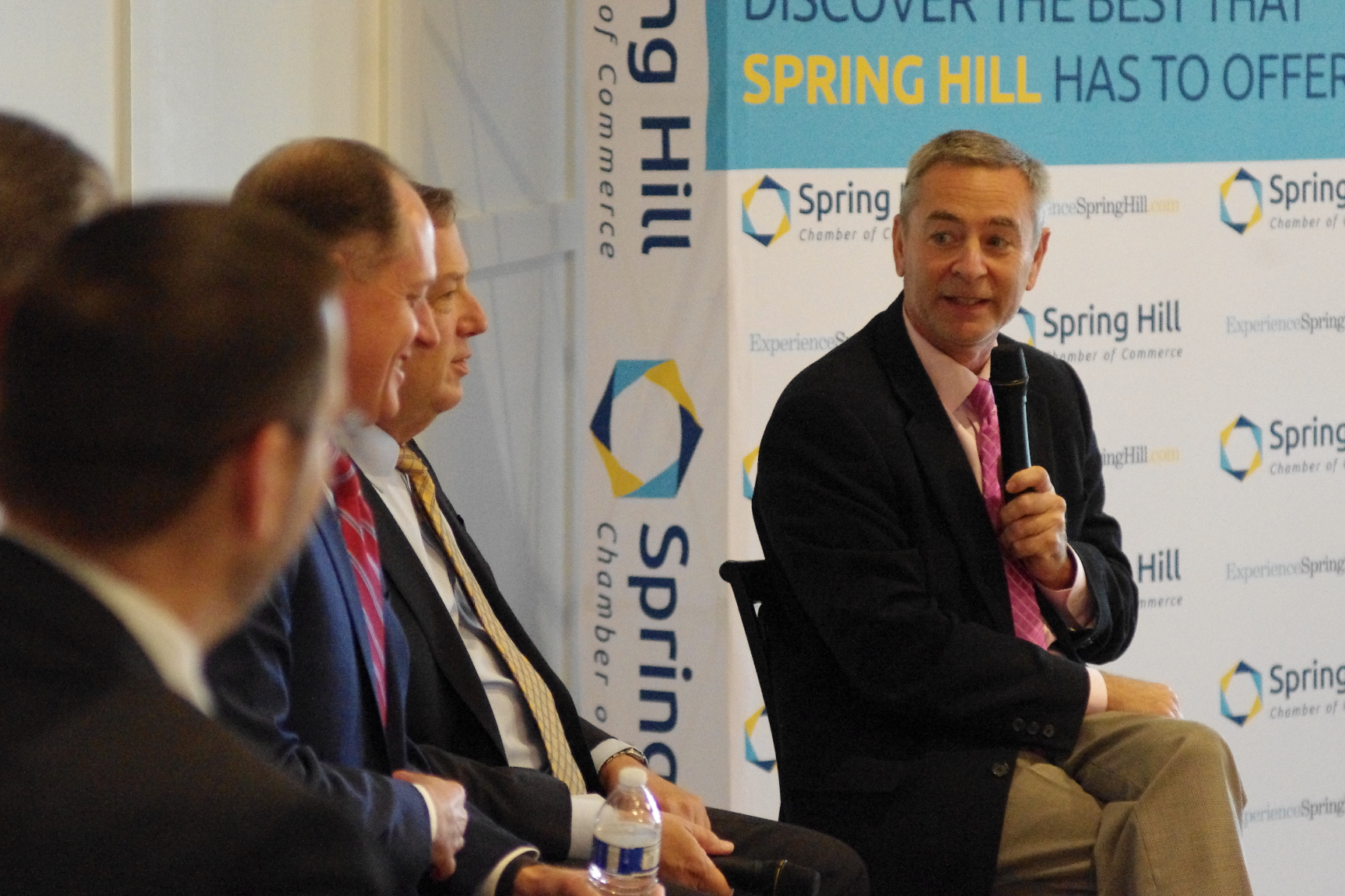 Glen Casada, Sam Whitson and other state leaders praise Spring Hill leadership for infrastructure progress