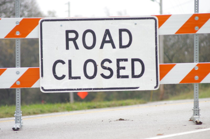 Multiple road closures along Duplex Road begin Friday