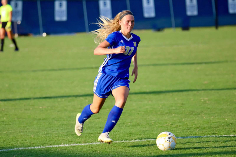 Brentwood girls soccer continues strong season in Centennial win