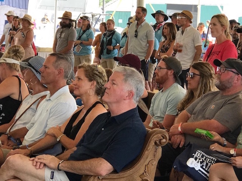Pilgrimage Festival's worship service gives some attendees chance to reflect