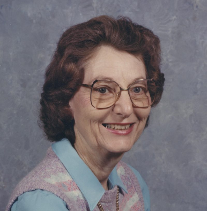 OBITUARY: Bertha Dunaway Bruning