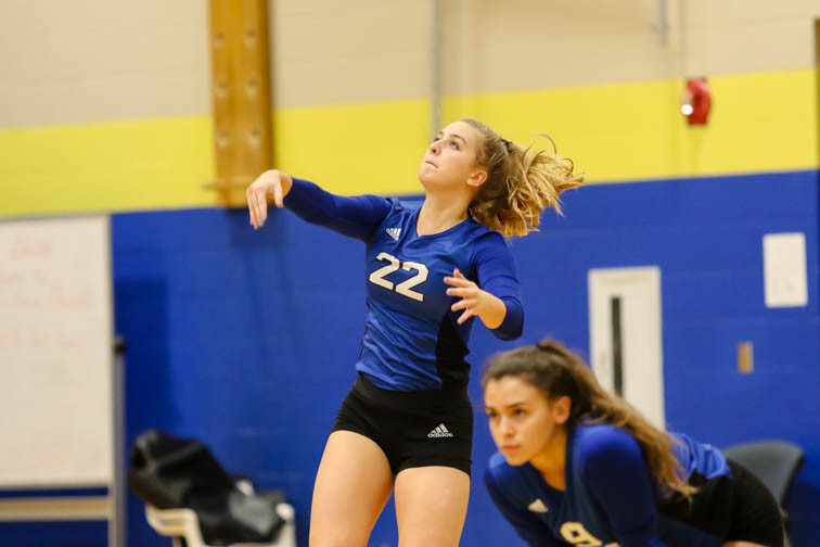 PHOTOS: Brentwood volleyball celebrates Senior Night with Independence win