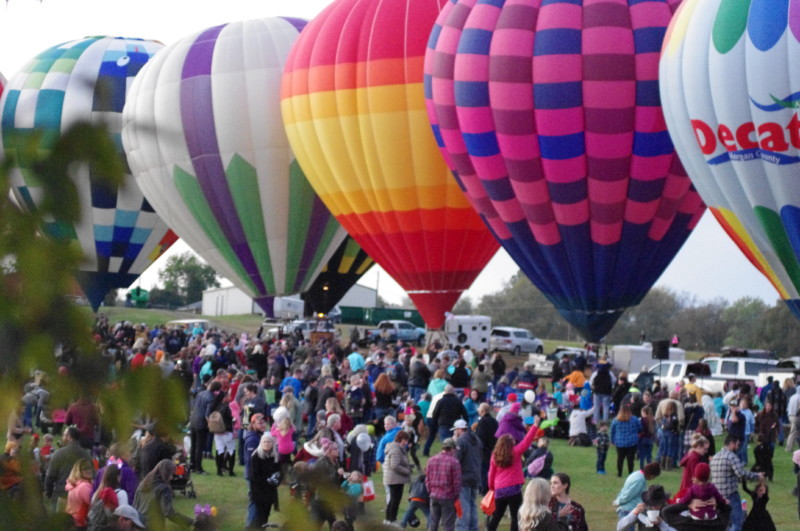 Hot Air Balloon Spooktacular returns to Spring Hill for second year