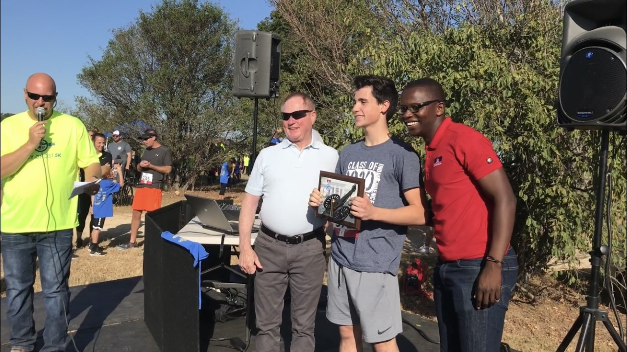 Spring Hill resident Trey Charles takes first place in Grey Ghost 5k