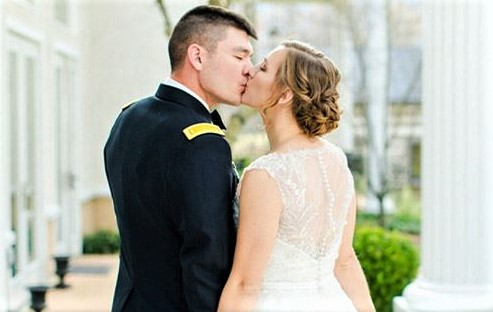 Glitz offering free wedding gowns to military brides
